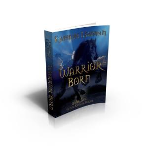 3D version of Warrior Born Cover