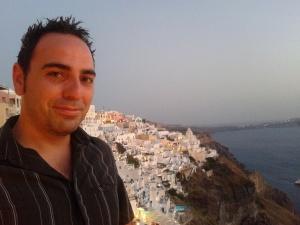 Me in Santorini (book 2 setting)