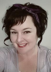 Me with purple bandana