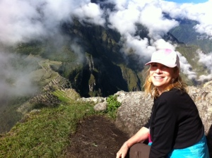 At the Top of Huayna Picchu